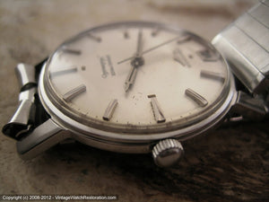 Longines Grand Prize with Date at 12 o'clock, Automatic, 33.5mm