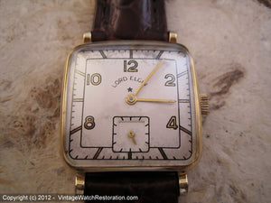 Lord Elgin Unusual Rounded Square, Manual, 26x34mm