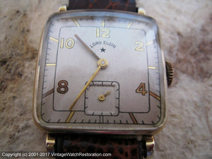 Lord Elgin Rounded Square Case, Manual, 25x34mm