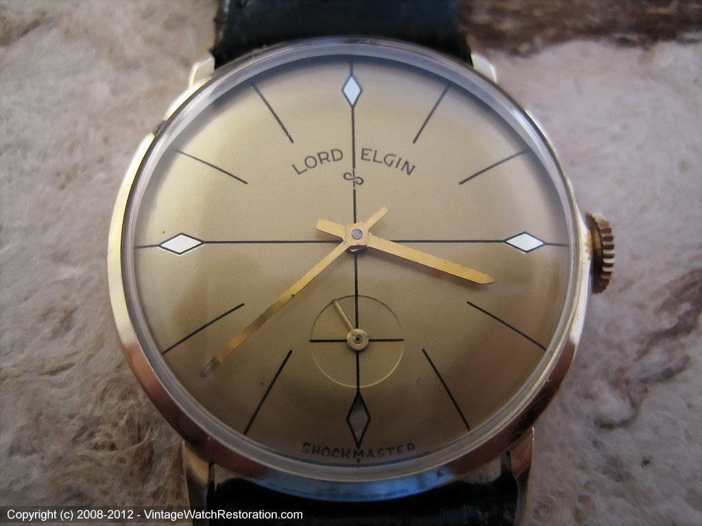 Lord Elgin Exquisite Dial with Rare Caliber, Manual, 32mm