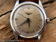 Load image into Gallery viewer, Longines Pefectly Aged Parchment Patina Dial, Manual, 33.5mm