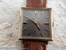 Load image into Gallery viewer, Marvin NOS Bronze Dial in Square Case, Manual, 27.5x27.5mm