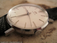 Load image into Gallery viewer, Classic Marvin NOS Pearl White Dial Gem, Manual, Very Large 35mm