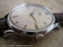 Load image into Gallery viewer, WWII Era Large Marvin with Nice Dial Patina (OC1), Manual, Huge 37mm