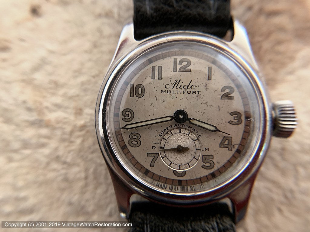 Mido Multifort Sweet Two-Toned 'Super Automatic', Automatic, 28.5mm