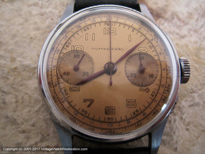 Montagne Chronograph with Copper-Yellow Dial, Chronograph, Large 35mm