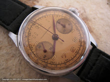 Load image into Gallery viewer, Montagne Chronograph with Copper-Yellow Dial, Chronograph, Large 35mm