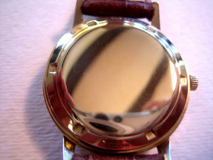 Movado Solid 14k Gold, Automatic, 33mm