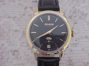 Movado Bumper Day/Date Ponsoir, Automatic, Large 34mm