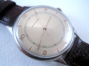 Very large classic and original Movado, Manual, Huge 37mm