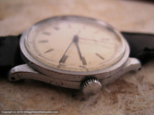 Load image into Gallery viewer, Original WWII Era Movado Elegant Roman Dial, Manual, Very Large 35mm