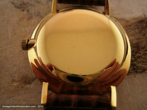 Gold Dial Movado Kingmatic, Automatic, Large 34mm