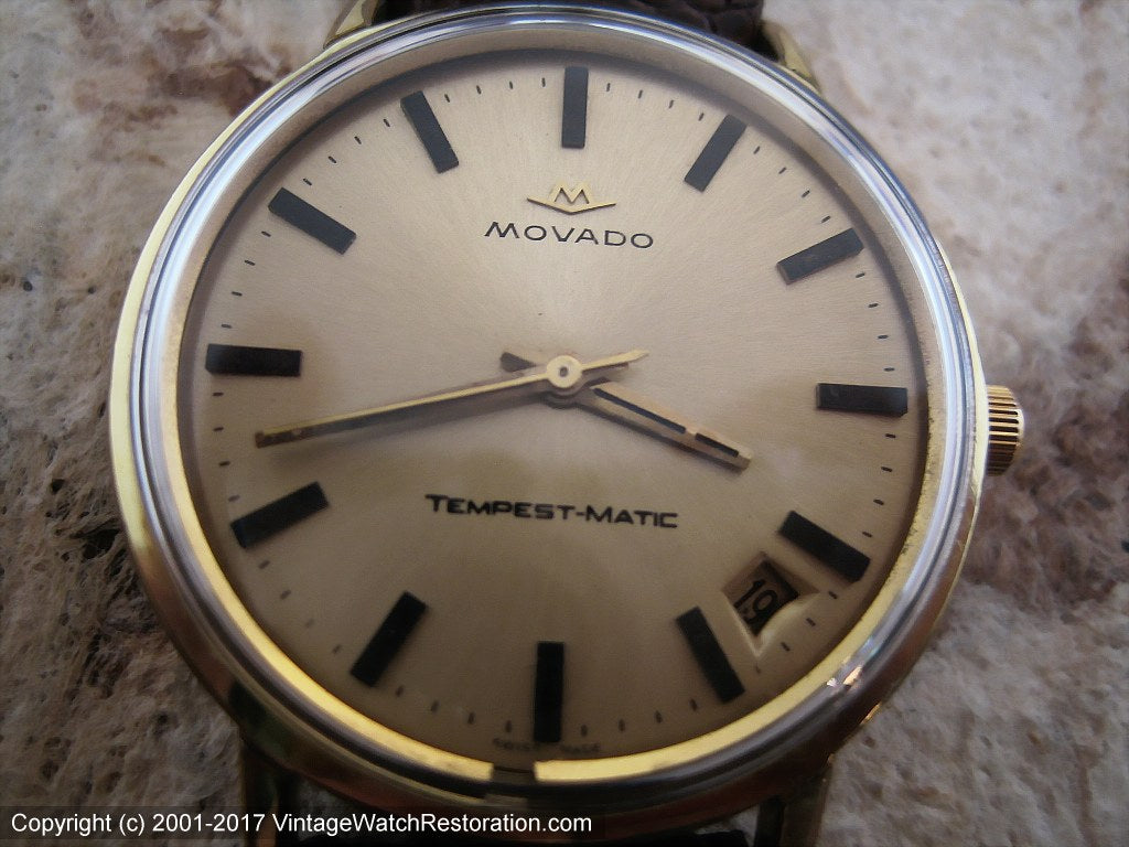 Movado Tempest-Matic Sub Sea with Date, Automatic, Large 36mm