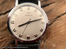 Load image into Gallery viewer, Marvin with a Perfect Original Striated Design Dial with Squared Markers and Hands, Manual, 35mm