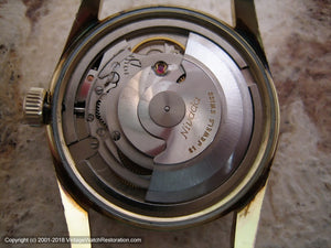 Nivada 'Antarctic 21' Pie Pan Silver Dial with Date, Automatic, Large 35mm