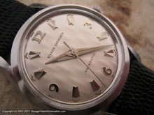 Load image into Gallery viewer, NOS Nivada Grenchen (Croton) 'Antarctic' with Snow Drift Dial, Automatic, Large 35mm