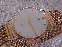 Load image into Gallery viewer, Omega 18K Rose Gold, C. 266, Manual, Large 35mm