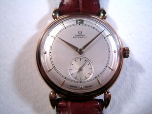 Omega 18K Rose Gold Classic, Automatic, Large 36mm
