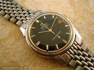 Omega Constellation Chronometre with Stainless Rice Band, Automatic, Large 35mm