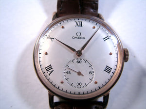 Huge Omega with Roman Numerals, Manual, 37.5mm