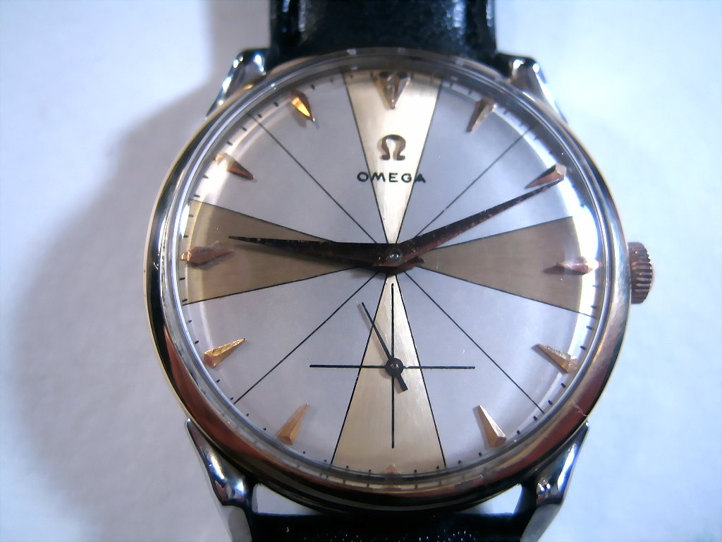 Omega Gold and Silver Cross, Manual, 37.5mm