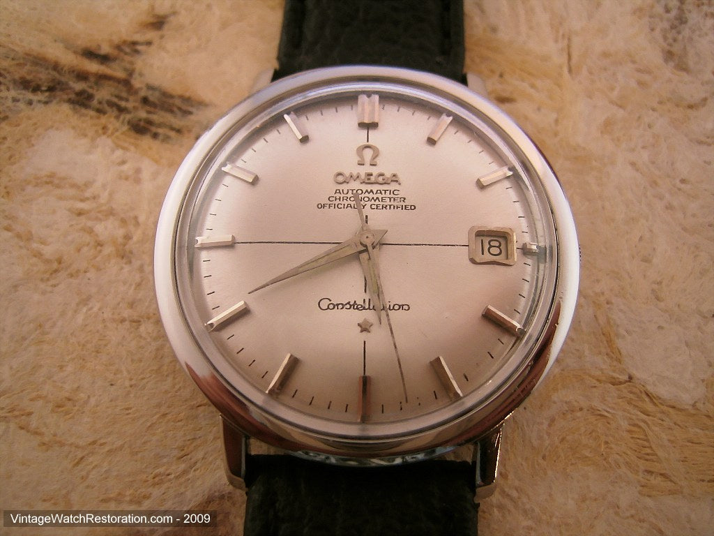 Omega Constellation Chronometer with Date, Automatic, Very Large 36mm