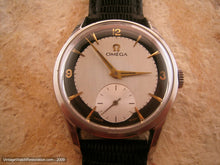 Load image into Gallery viewer, Spotless Omega Military with Black and White Dial, Manual, Very Large 36mm