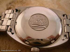 Original Omega Chronometre Constellation with Stainless Bracelet, Automatic, 35mm
