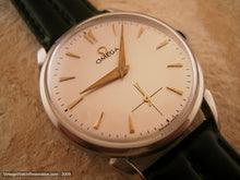 Load image into Gallery viewer, Classic Silver Dial Cal 265 Omega , Manual, Large 35mm