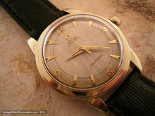 Load image into Gallery viewer, Stunning Omega Seamaster with Parchment Aged Dial, Automatic, Large 35mm
