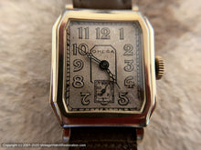 Load image into Gallery viewer, Omega Very Rare All Original 1923 Model in Square Cut Rectangular Case, Manual, 26x37mm