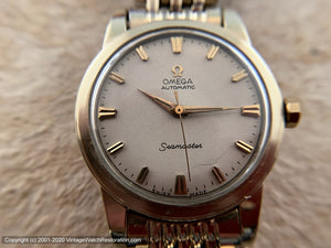 Omega Seamaster with Omega Rice Bracelet, Automatic, Large 35mm