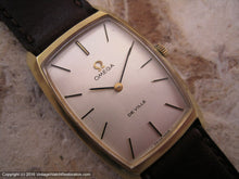 Load image into Gallery viewer, Omega De Ville in More Sought after Rectangular Case, Manual, 25x39mm