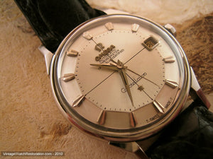 Omega Chronometer Constellation Pie Pan Dial with Date, Automatic, 34mm