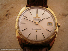 Load image into Gallery viewer, 18K Gold Omega Constellation Chronometer Tonneau, Automatic, 35x40mm