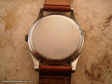 Load image into Gallery viewer, Rare All Original First Automatic Omega Military Bumper with Pigskin Strap, Automatic, Large 35mm
