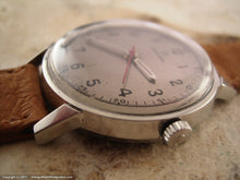 Load image into Gallery viewer, Early Omega Seamaster with Silver Dial and Pigskin Strap, Manual, 34mm