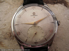 Load image into Gallery viewer, Huge Omega Red Star 20T2 with Original WWII Era Dial, Manual, Huge 38.5mm