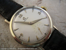 Load image into Gallery viewer, Large 14K Gold Pre-Seamaster Omega Cal 410, Manual, Large 34mm