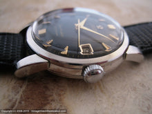 Load image into Gallery viewer, Early Omega Seamaster Black Dial with Date, Automatic, 34mm