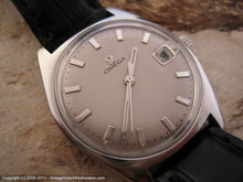 Load image into Gallery viewer, Dove Gray Dial Omega Stunner with Date, Automatic, Large 34.5mm