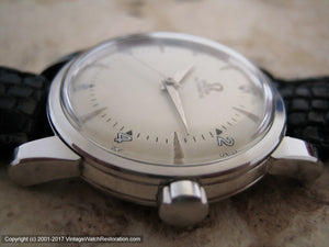 Early Omega Seamster Bumper, Automatic, Large 34mm
