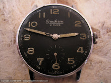 Load image into Gallery viewer, Omikron 21 Rubis German Military 'Bundeswehr-type' Black Dial, Manual, Large 35mm