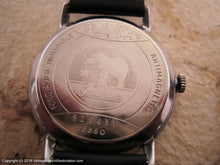 Load image into Gallery viewer, Large Black Dial Omikron with Wehrmachtswerk Military Movement, Manual, Large 35mm