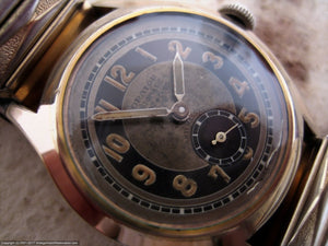 Early Bumper WWII Era Orator with Two-Tone Dial, Automatic, 31mm