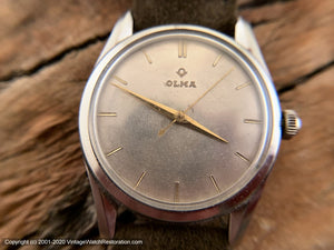 Olma Silver Dial Classic, Manual, 33.5mm