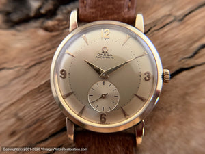 Omega Bumper Golden Dial, Automatic, Large 35mm