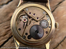 Load image into Gallery viewer, Omega Huge 30T2 Rose Gold Numbers, Manual, 37.5mm