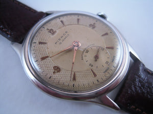 Pierce Parchment Textured Dial, Manual, Very Large 37mm