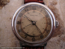 Load image into Gallery viewer, Racine (Gallet) Two-Tone WWII Era Original Dial, Manual, 33.5mm